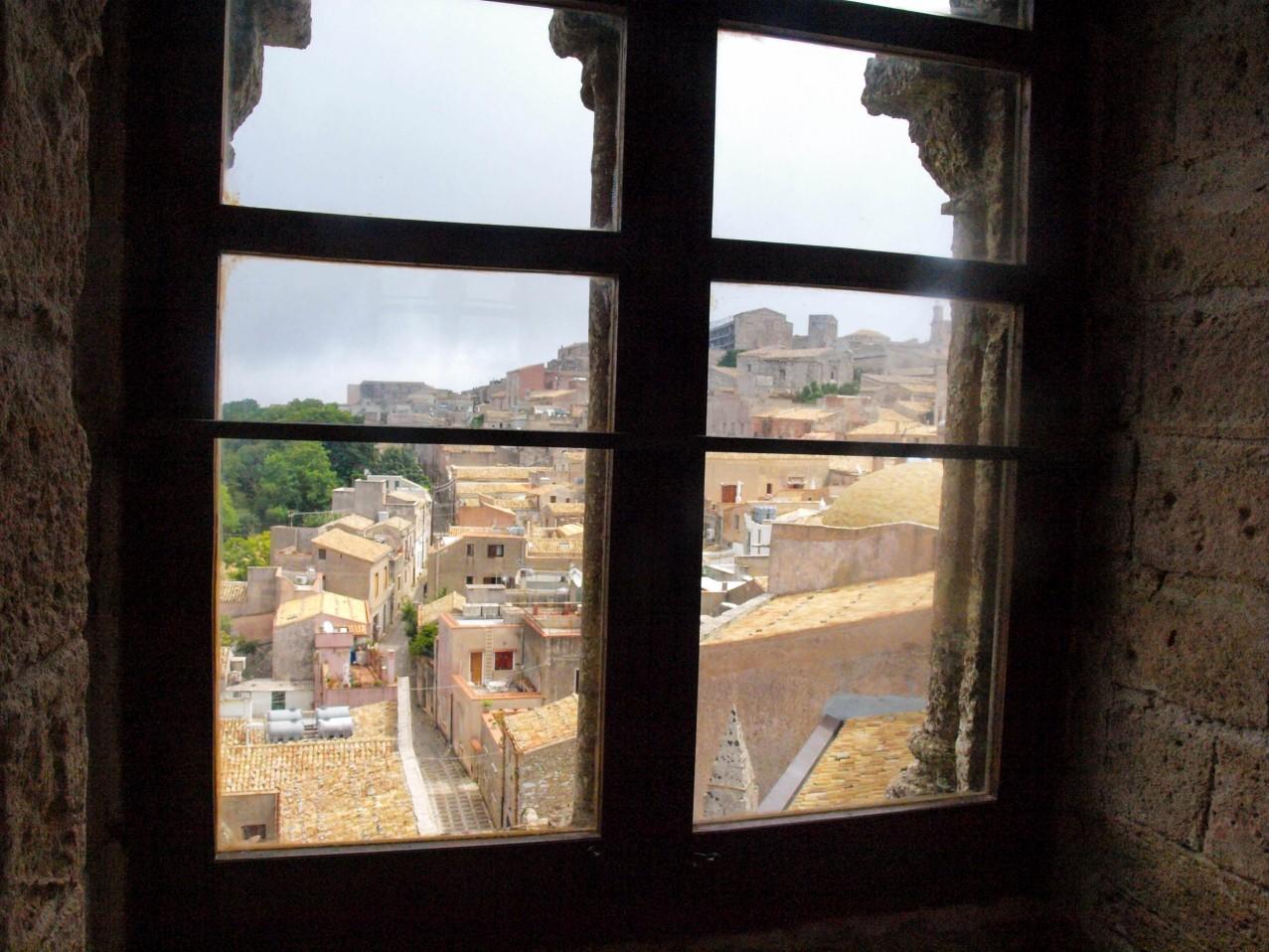 Widok z okna w Erice