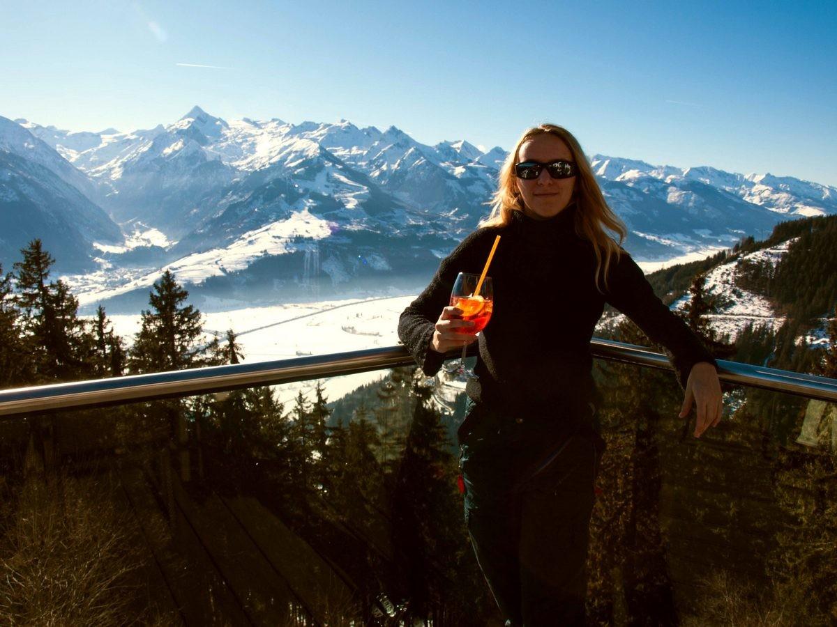 Kaprun i Zell am See - narty w Austrii (14)