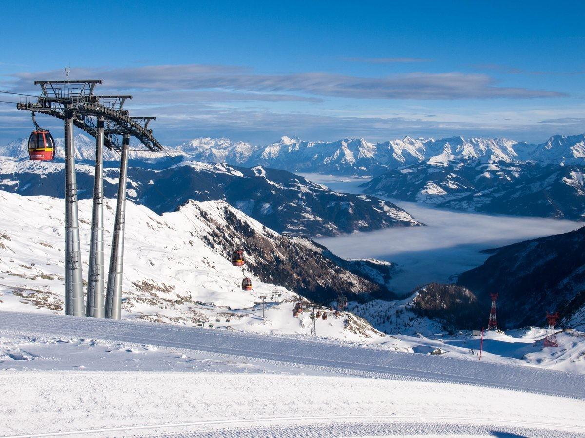 Kaprun i Zell am See - narty w Austrii (5)