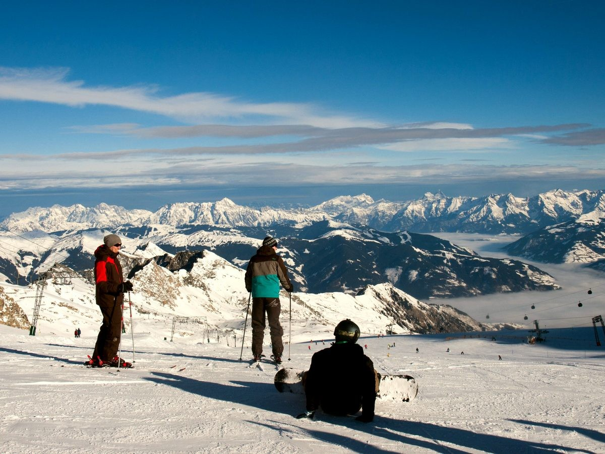 Kaprun i Zell am See - narty w Austrii (6)