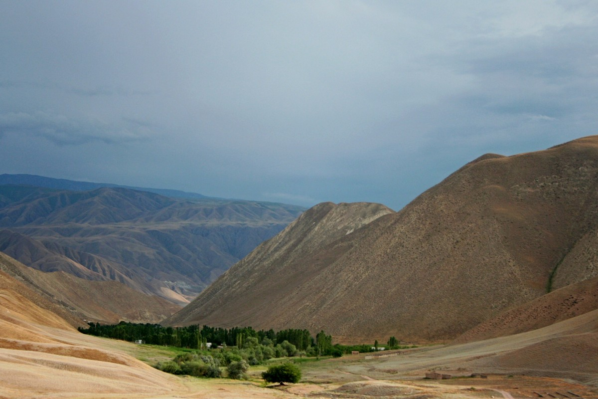 Toktogul - jezioro Kirgistan (4)