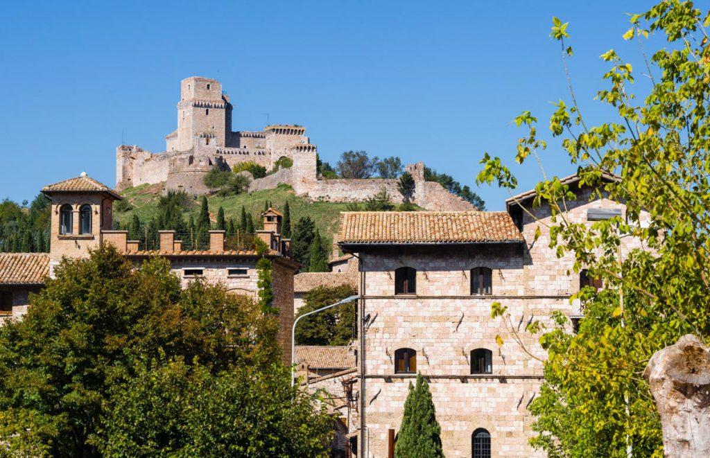 Asyż - twierdza i stare miasto