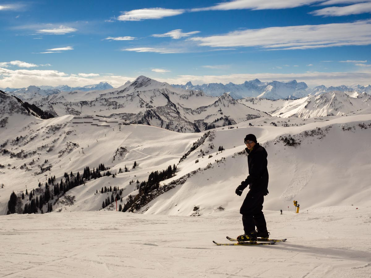 Vorarlberg narty w Austrii