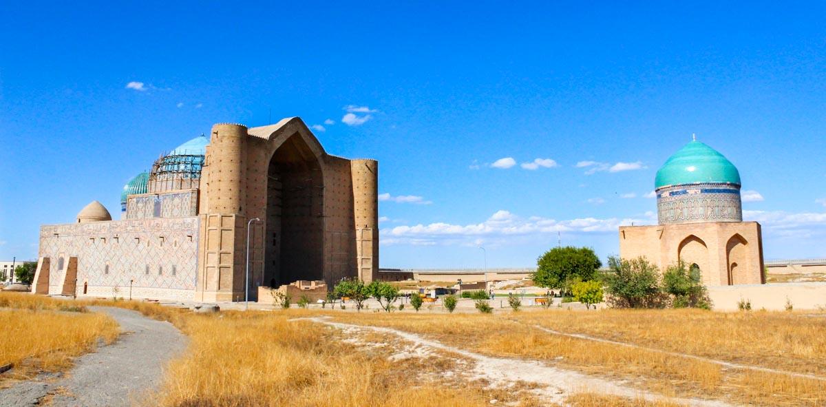 Kazachstan trasa wycieczki: Turkiestan