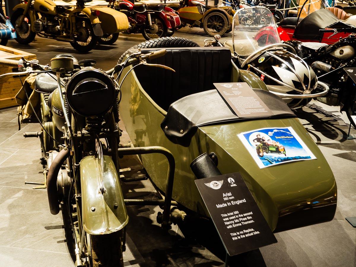 Solden Austria muzeum motocykli