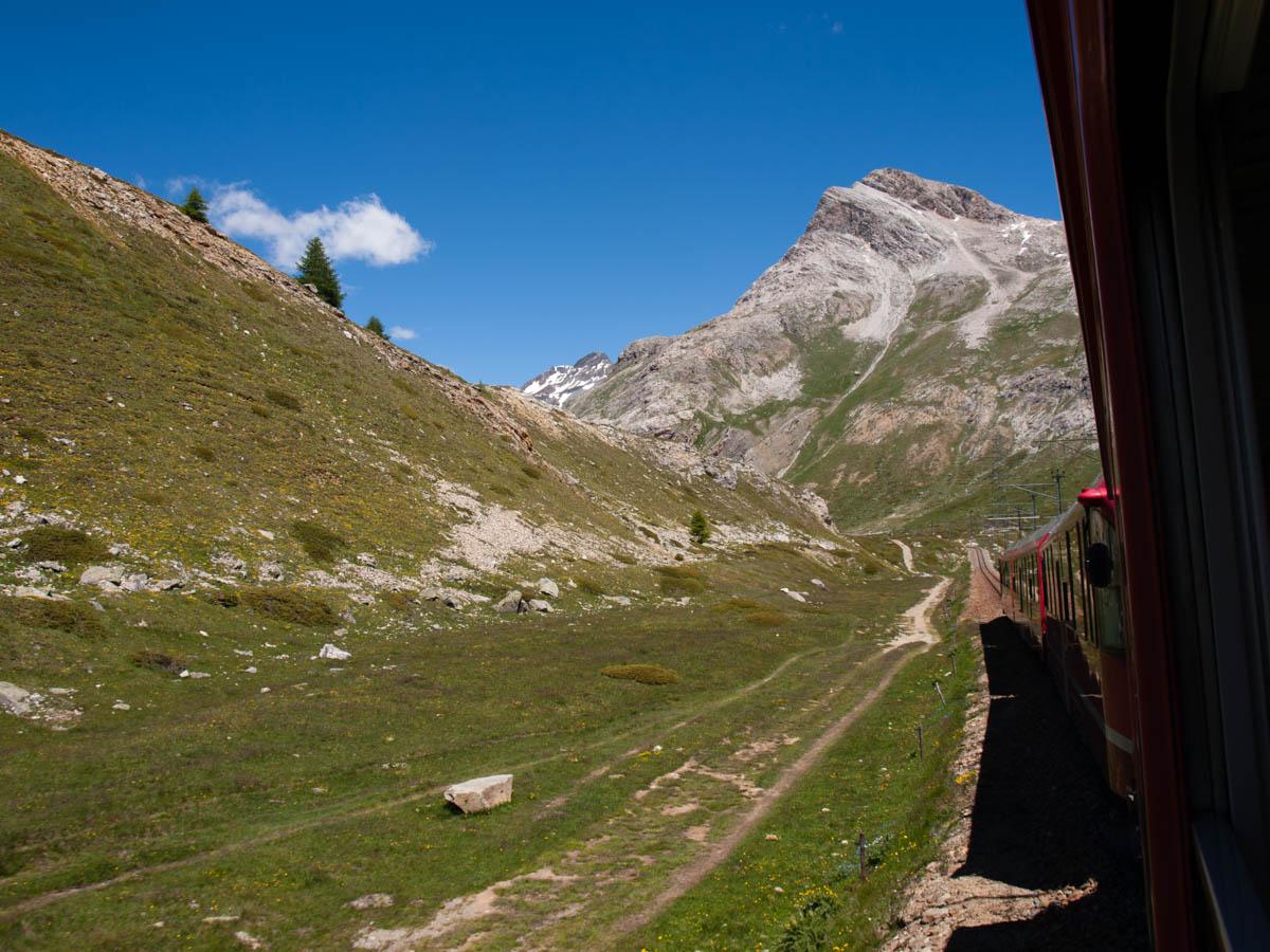 Jezioro Como atrakcje Bernina Express