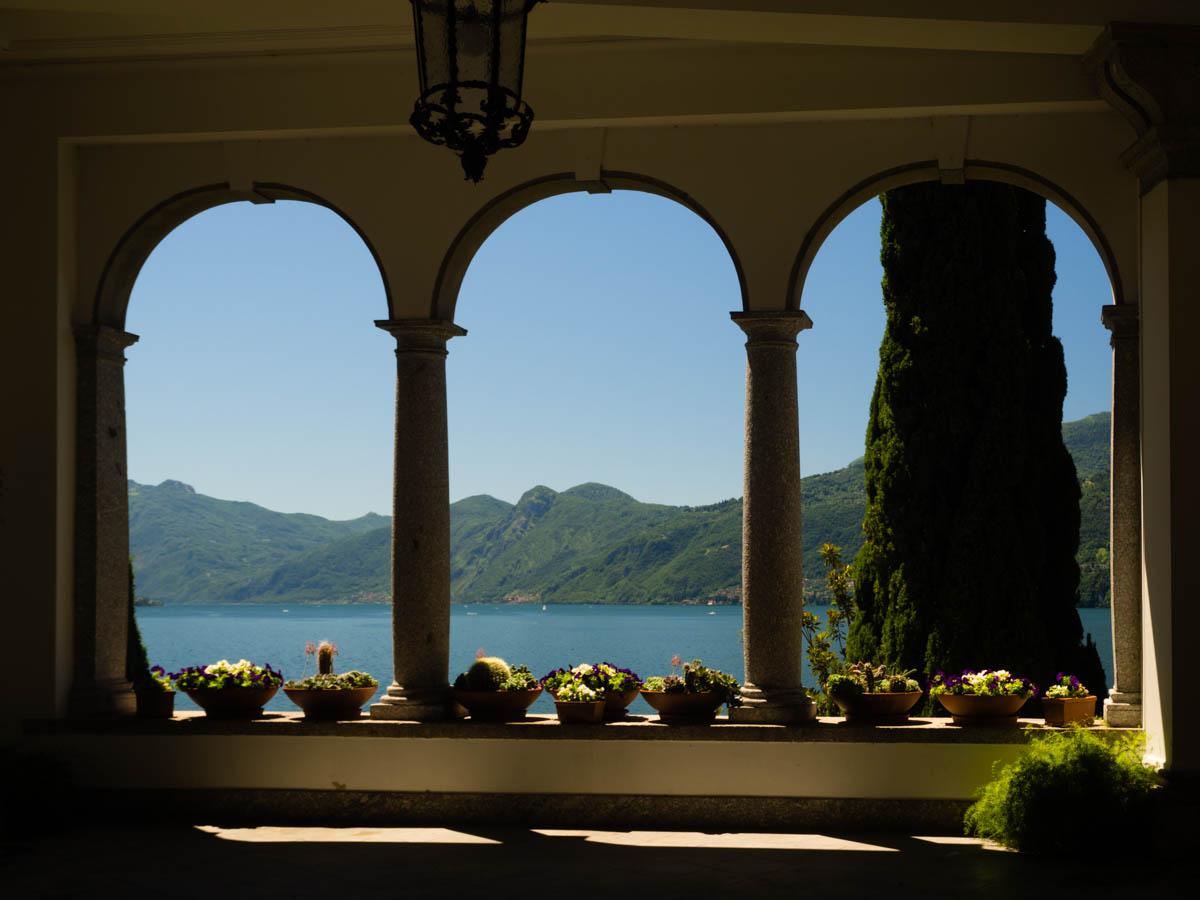 Jezioro Como atrakcje Varenna