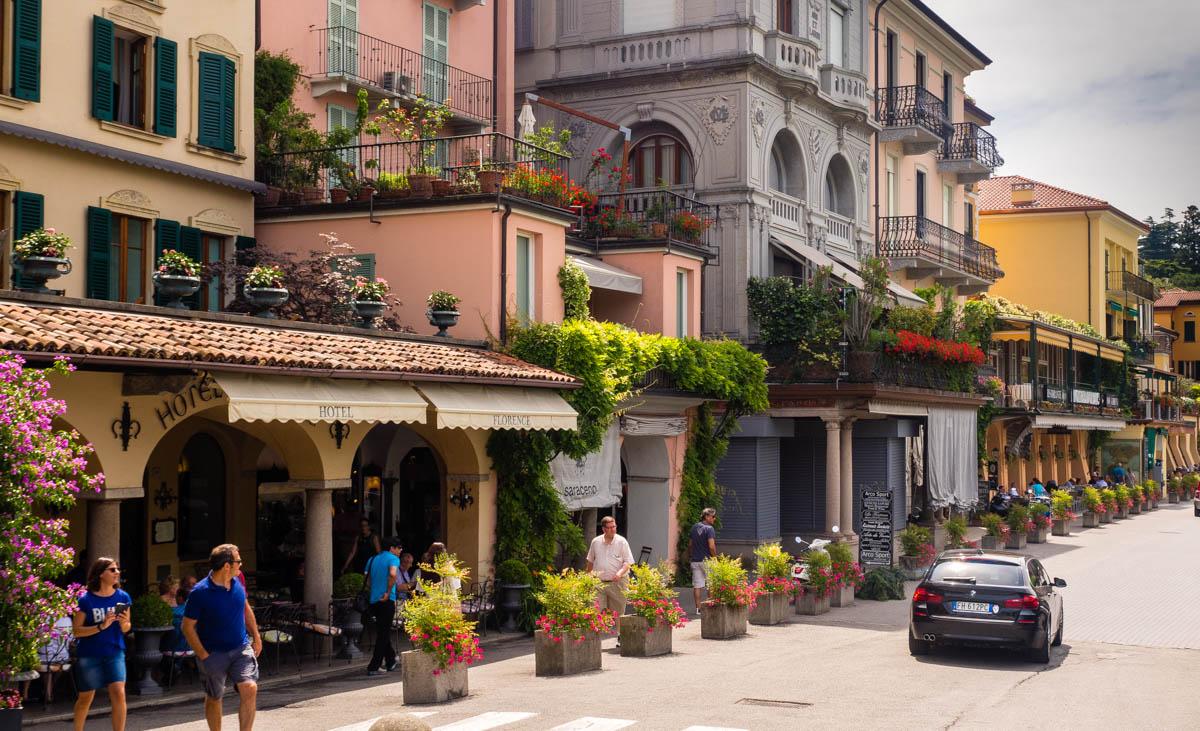 Jezioro Como atrakcje zwiedzanie