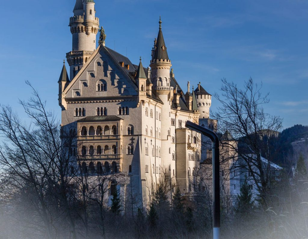 Fussen zamek Neuschwanstein
