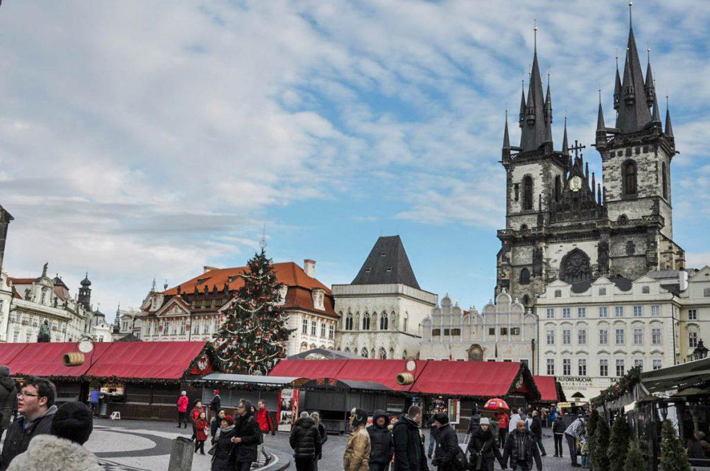 jarmark swiateczny Praga