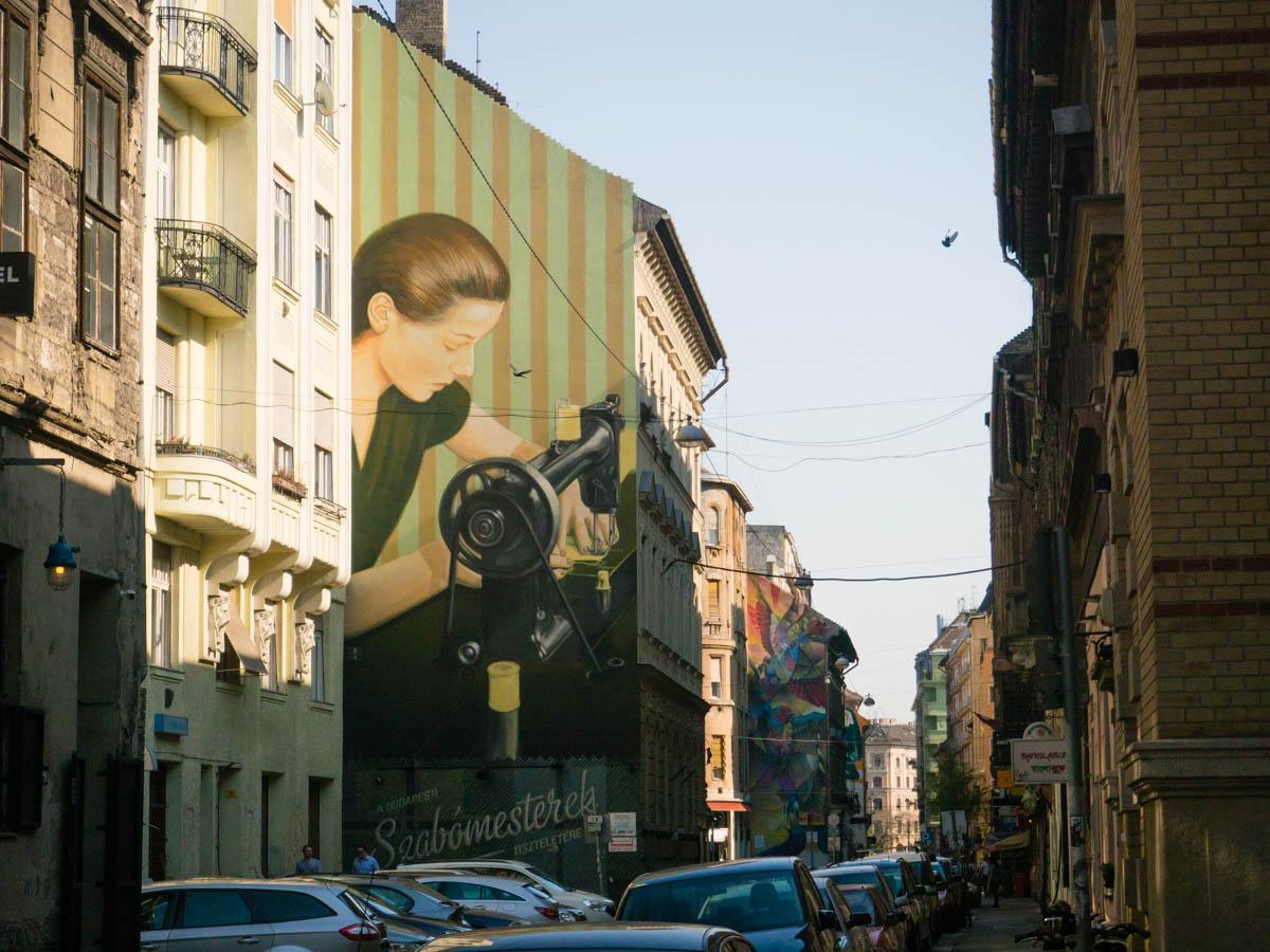 Budapeszt street art