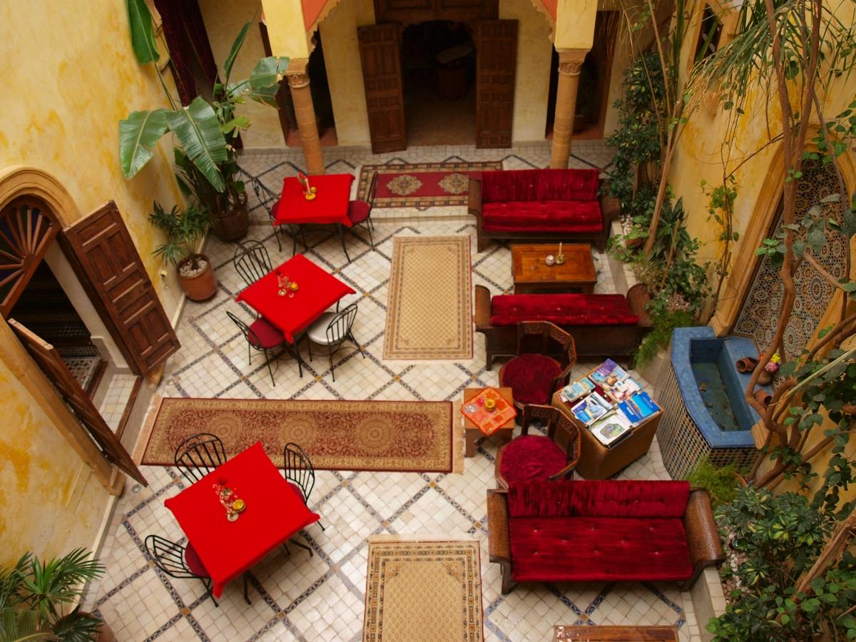 Maroko atrakcje riady