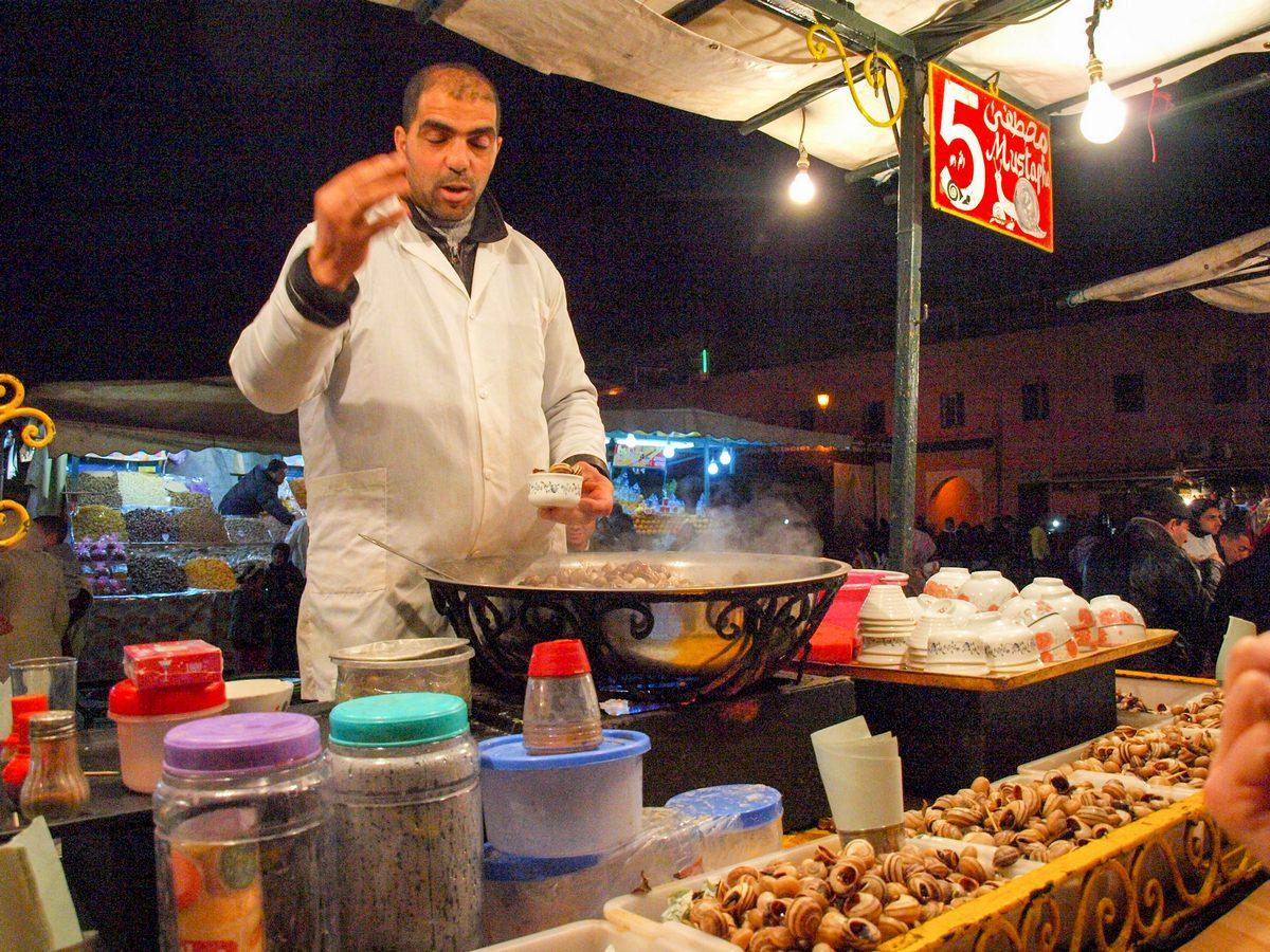 Maroko atrakcje Marrakesz