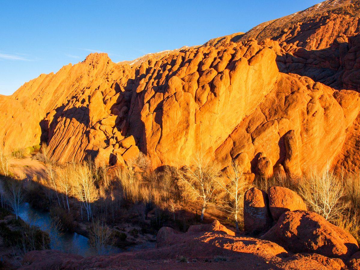 Maroko atrakcje wąwóz Dades