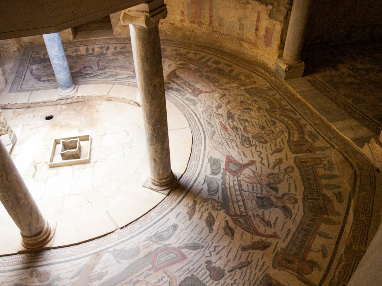 Sycylia atrakcje Villa Romana