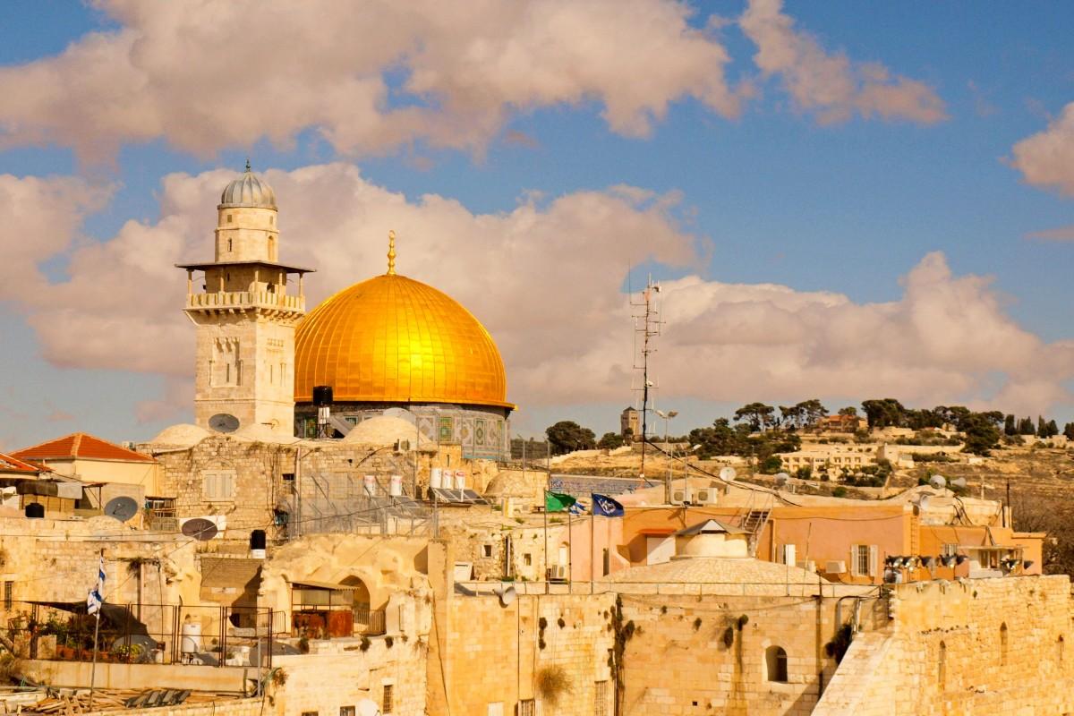 Jerozolima największe atrakcje: kopuła na skale