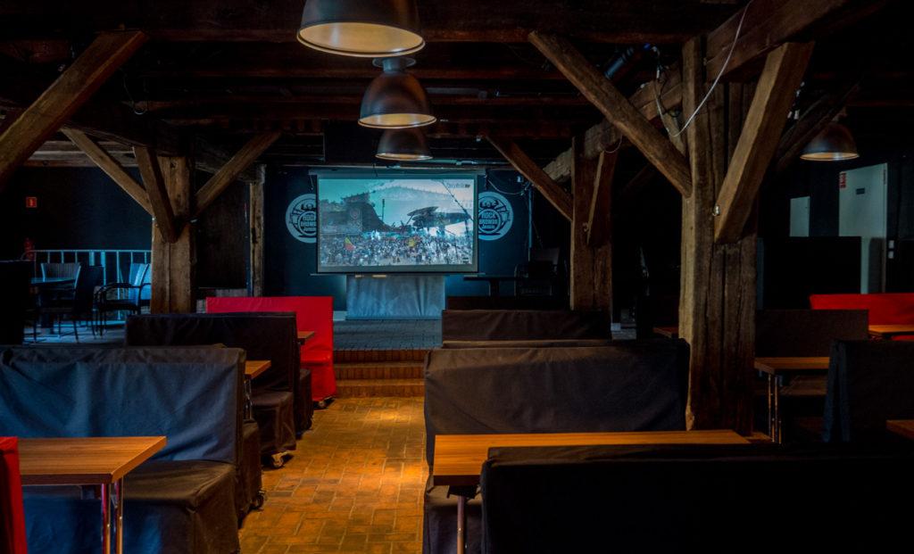 klub muzyczny w Spichlerzu Polskiego Rocka