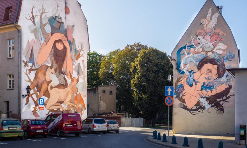 Leszno street art