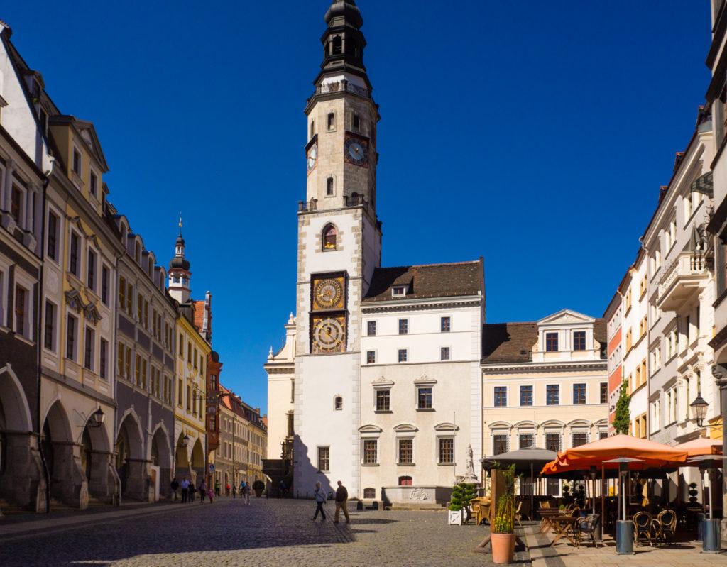 Untermarkt Goerlitz ratusz