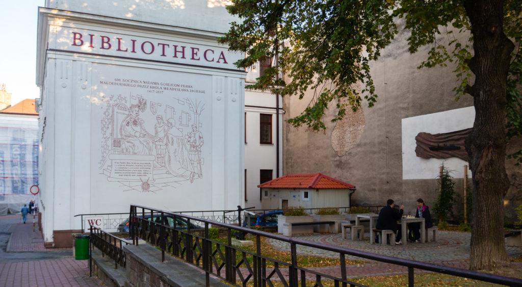biblioteka w Gorlicach