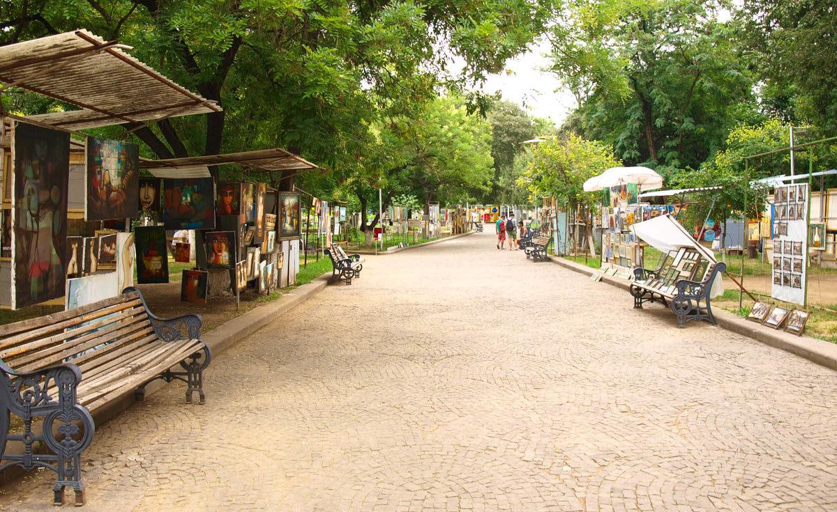 Tbilisi bazar antyków