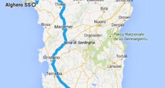 Sardynia – trasa wycieczki