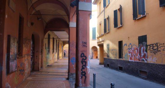 Street Art w Bolonii