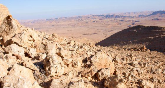 Wędrówki w Izraelu, albo pięć miejsc dla których warto zrezygnować z Jerozolimy i wejść na szlak