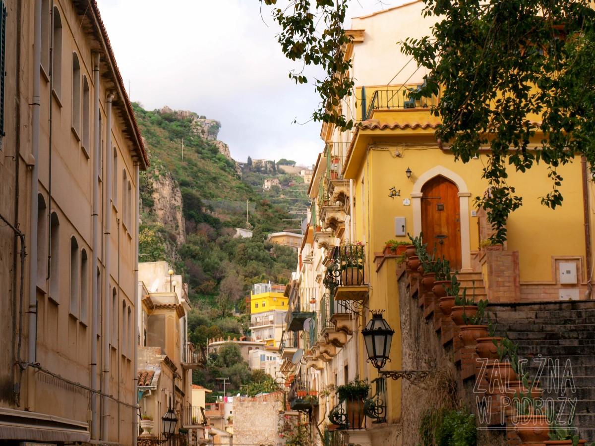 Taormina i jej uliczki