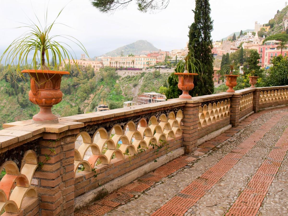 Taormina i jej ogród miejski