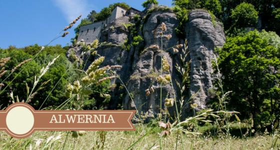 Apeniny w Toskanii i historia Alwerni