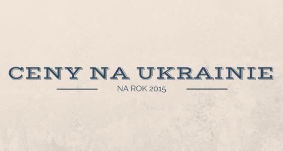 Ceny na Ukrainie 2015