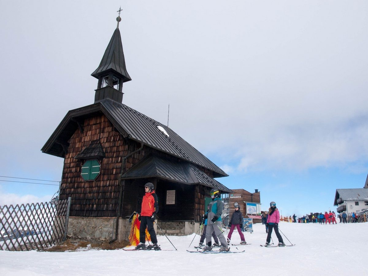 Kaprun i Zell am See - narty w Austrii (13)