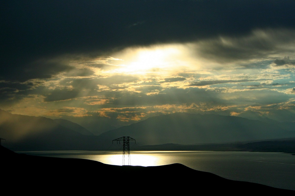 Toktogul - jezioro Kirgistan (6)