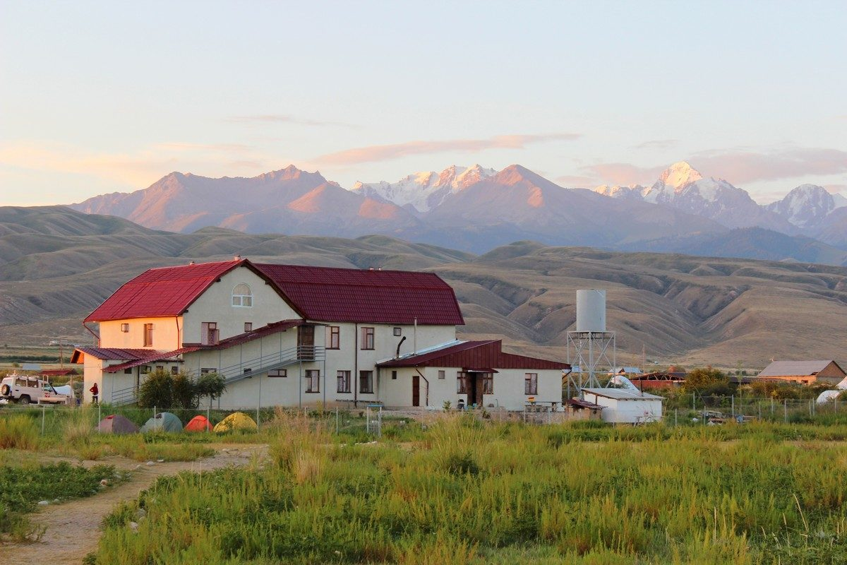polski ośrodek w Kirgistanie