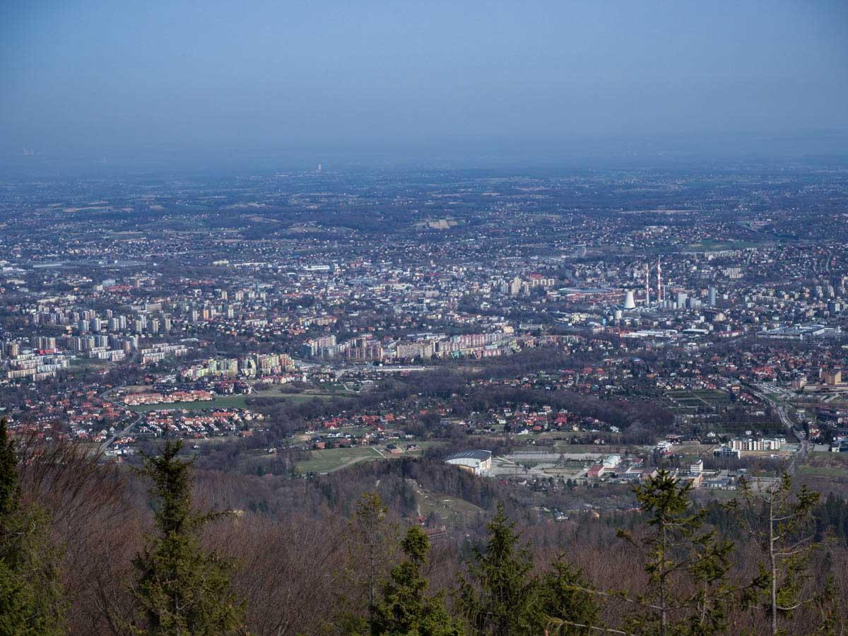 Bielsko-Biała z Szyndzielni