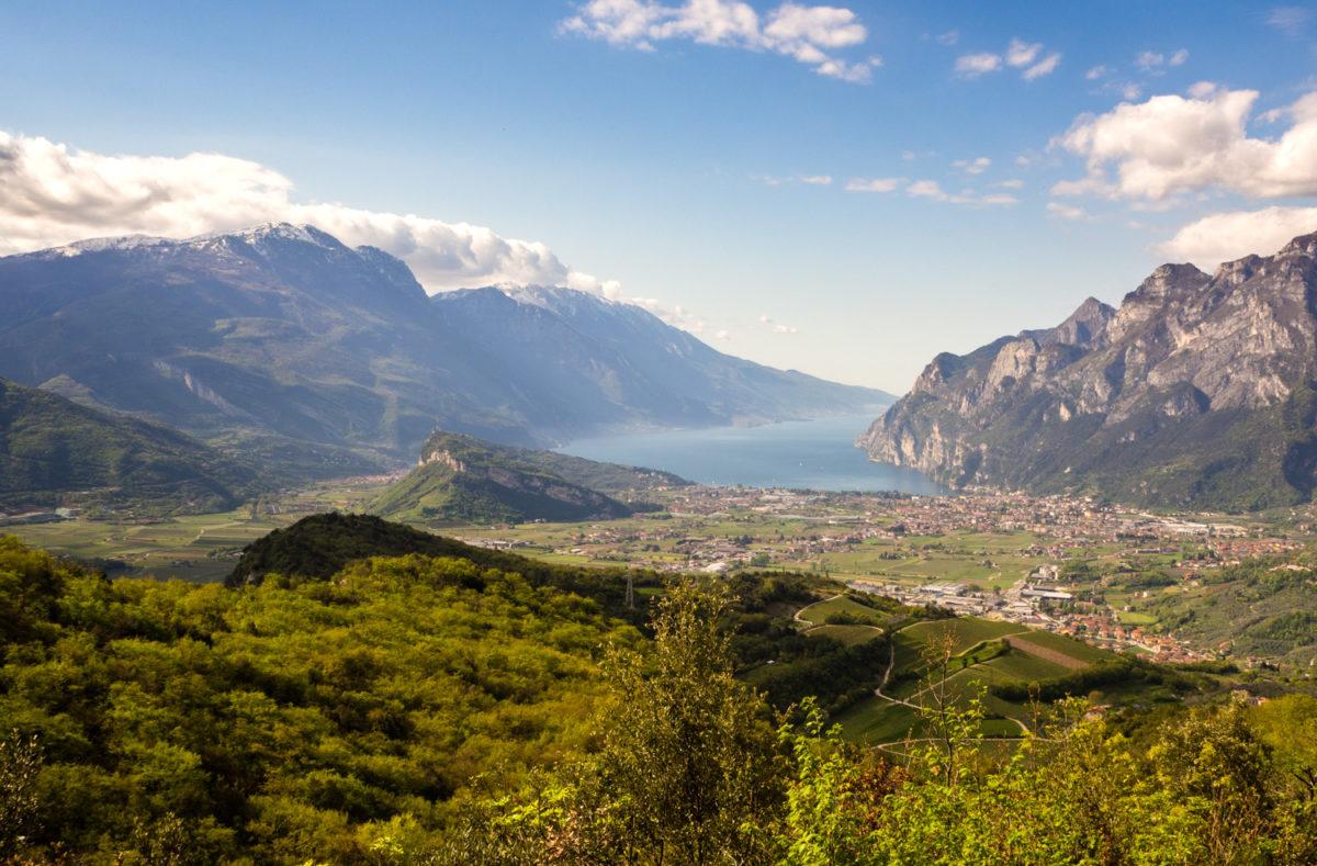 Monte Brento jezioro Garda