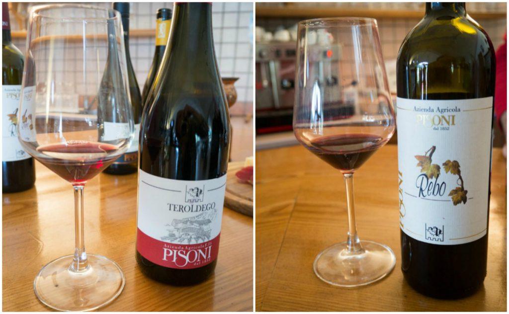 pisoni wina czerwone