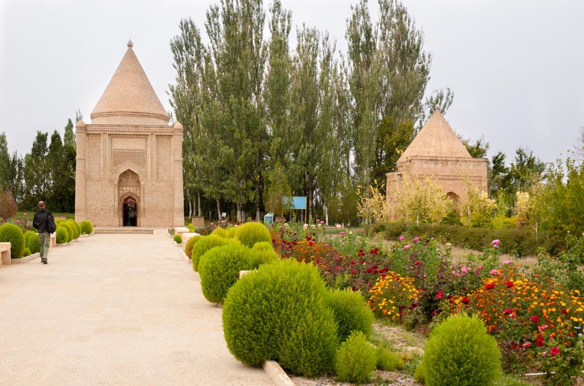 Kazachstan trasa wycieczki: Taraz