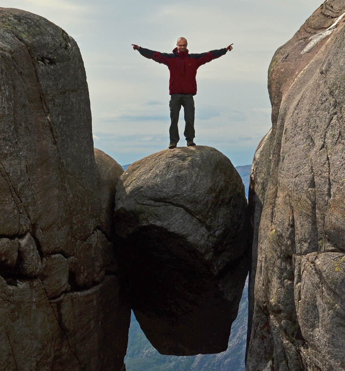Najwieksze atrakcje Norwegii Kjerag