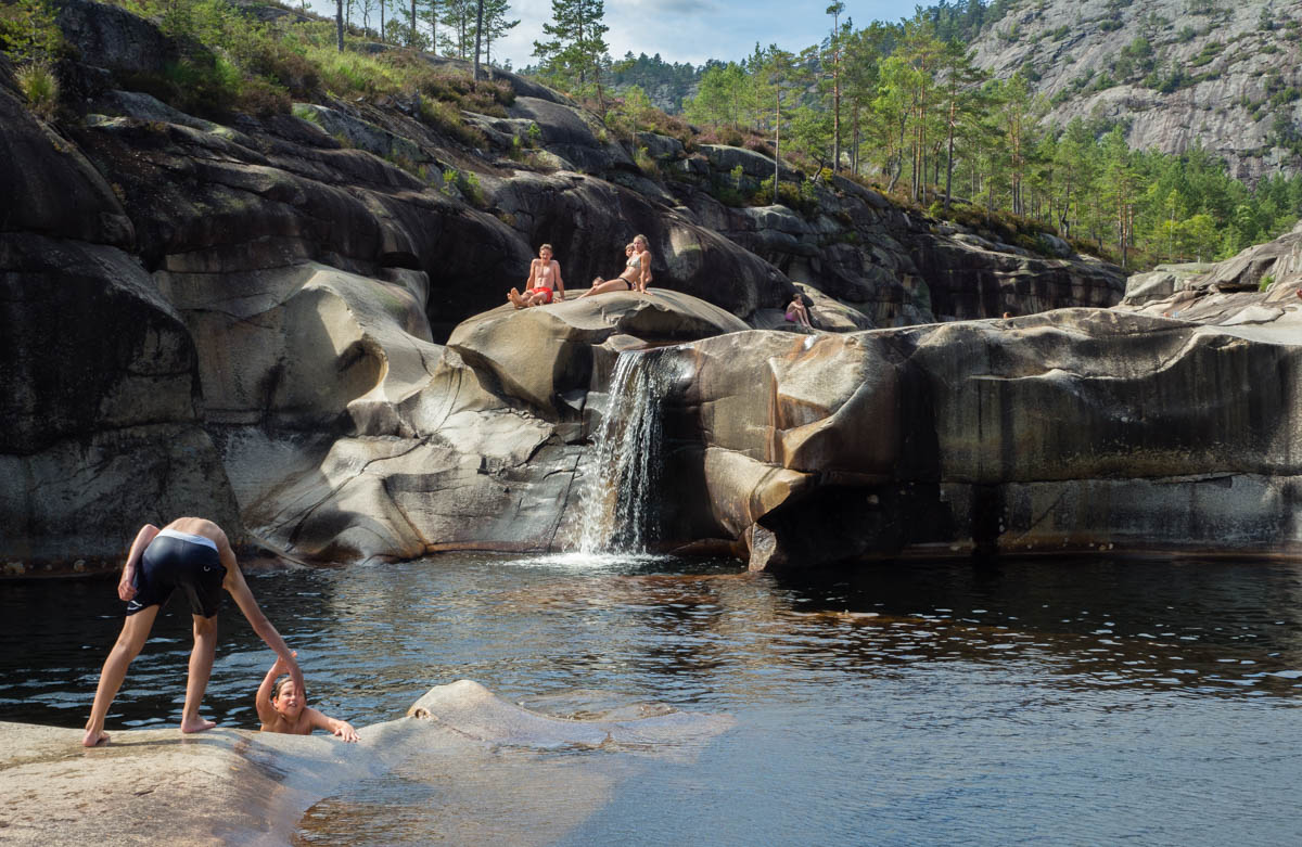 Norwegia atrakcje jettegrytene