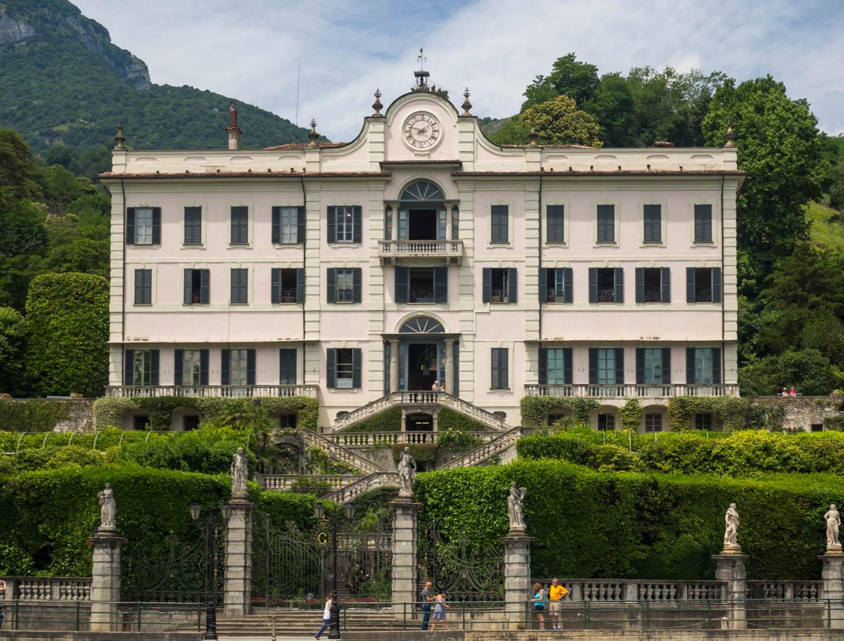 Jezioro Como atrakcje Villa Carolla