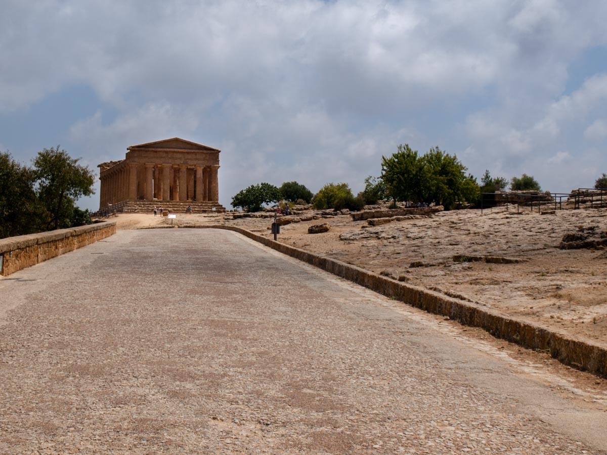 Agrigento zwiedzanie Sycylia