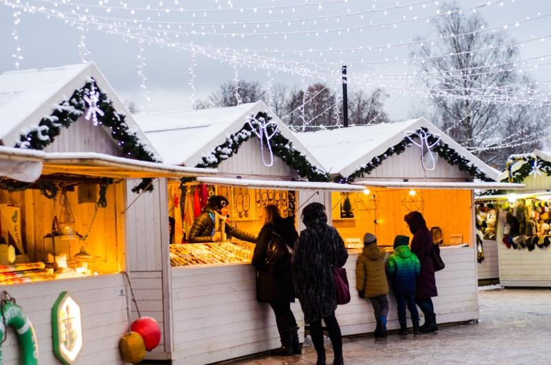 jarmarki bożonarodzeniowe w Wilnie