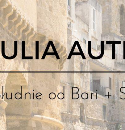 Autem przez Apulię! Wybrzeżem na Solento