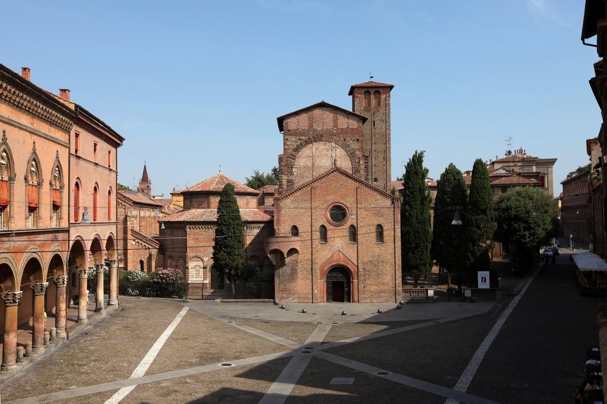 Bolonia Bazylika Santo Stefano