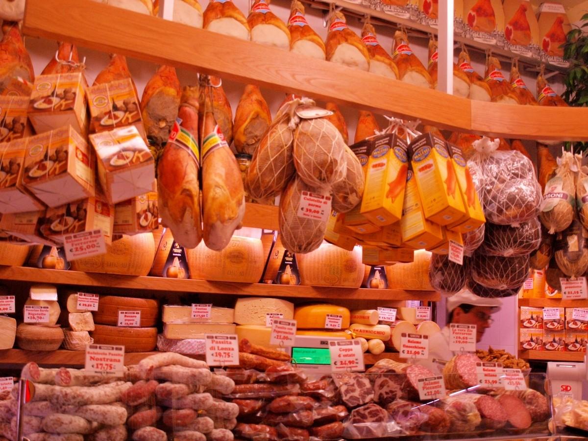 Bolonia Mercato di Mezzo
