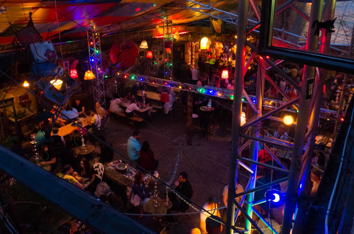 Budapeszt ruins pubs