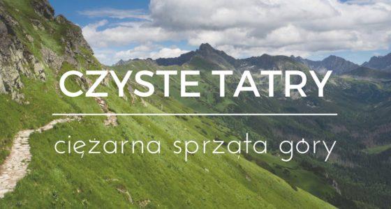 Czyste Tatry, czyli ciężarna sprząta góry