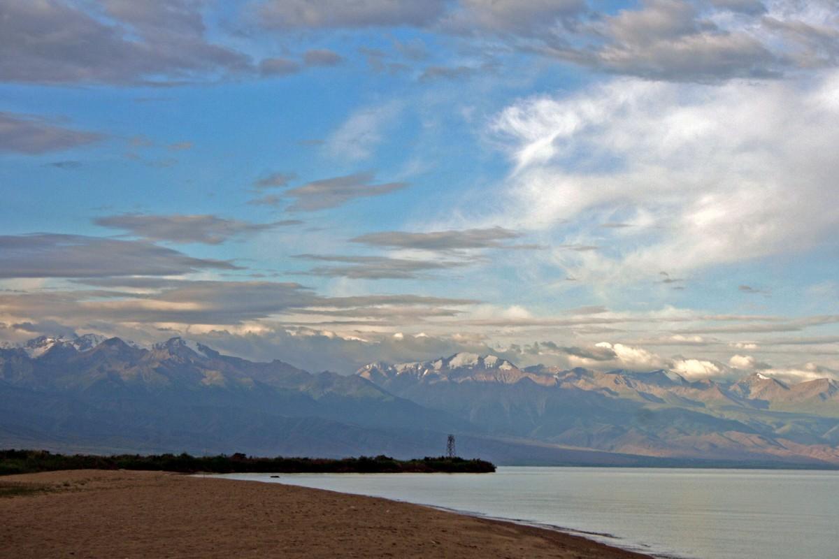 Jezioro Issyk-Kul